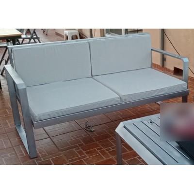 Καναπές Διθέσιος Silver