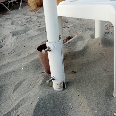 Βάση ομπρέλας παραλίας